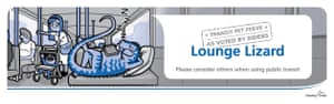Lounge Lizard, Vancouver 2011. Campaign by Robert Willis, Illustrations by Ed Spence, Print Design by Koot Botha