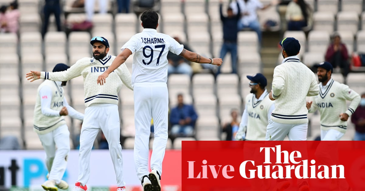 India v New Zealand: World Test Championship final, day five – live!