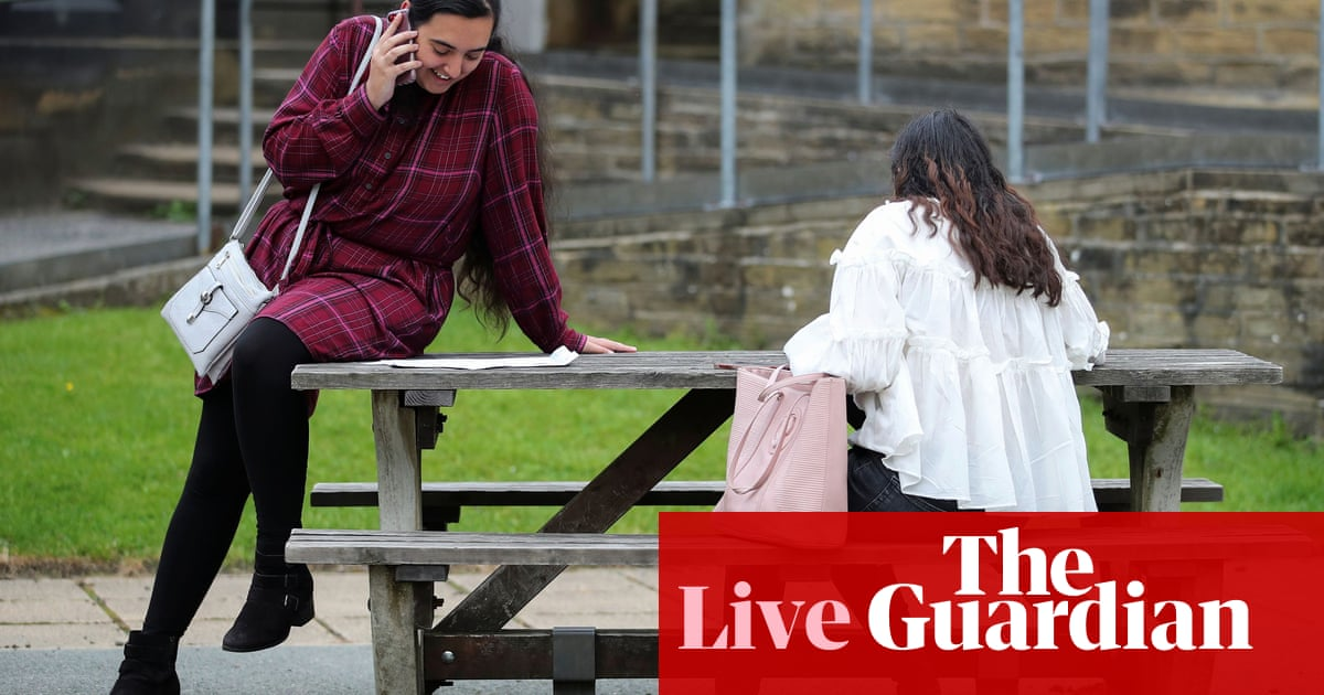 A-level results day 2020 live: 39.1% of pupils' grades in England downgraded - as it happened
