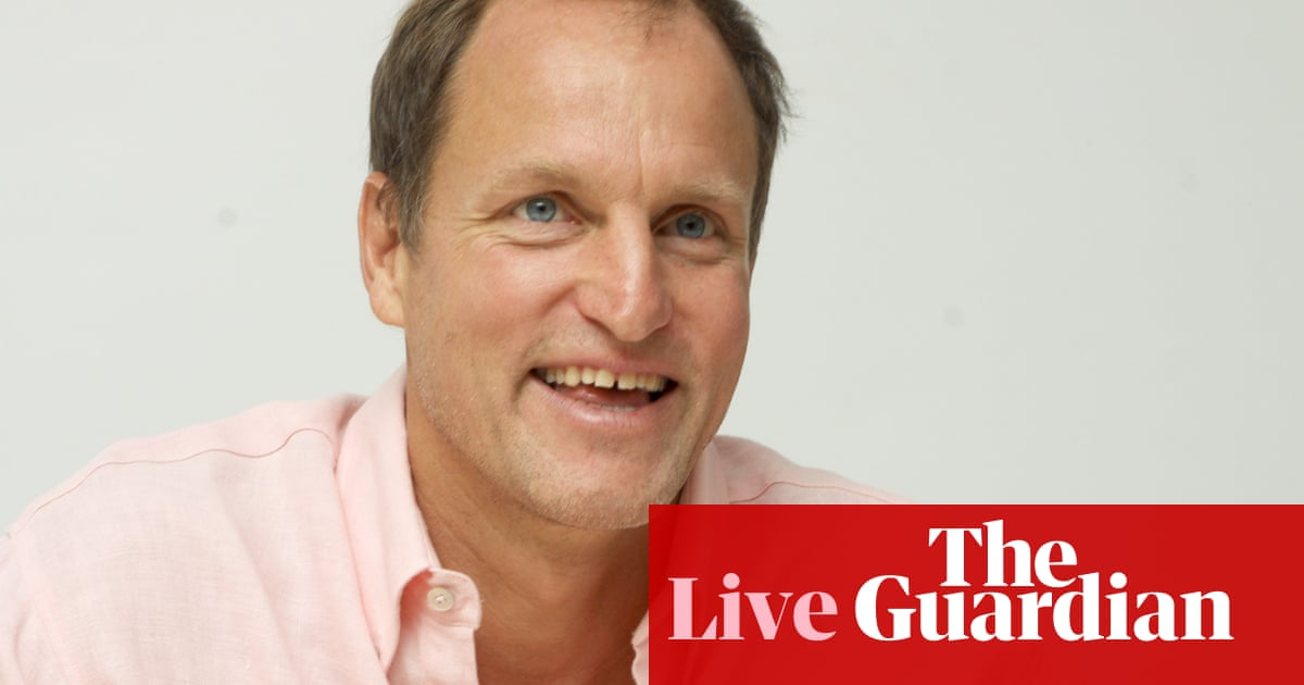 Woody Harrelson webchat – your questions answered on Cheers