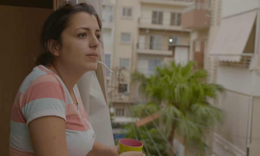 Trained architect Reem now organises self-help programmes in Lebanon. From the film Lost in Labanon