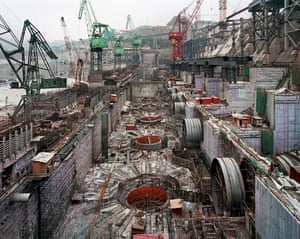Dam #6, Three Gorges Dam Project, Yangtze River, China, 2005