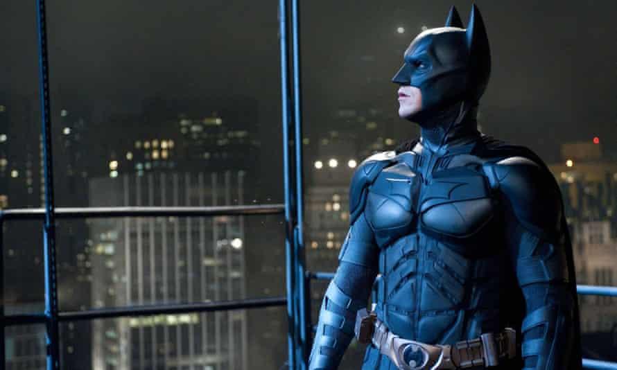 Christian Bale as Batman The Dark Knight Rises