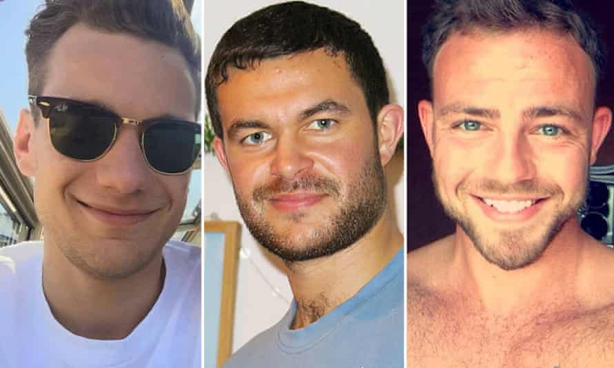 Jacob Schlit, Matthew Grimstone and Matt Jones. Shoreham victims.