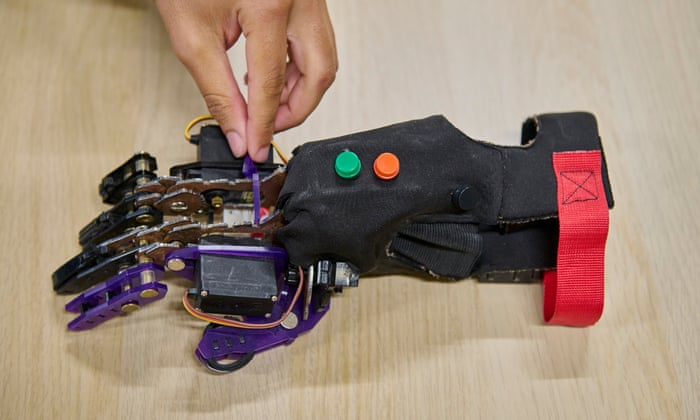 'I want to solve problems and be useful': meet the rising star prosthetics engineer