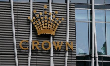 Crown logo at its Barangaroo development