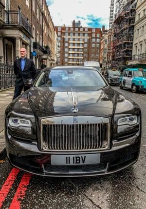 IBV's Rolls-Royce chauffer service.