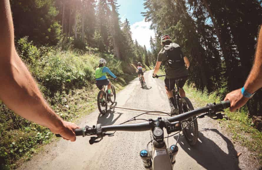 The Verbier Ebike Festival hopes to attract more attracting more summer visitors