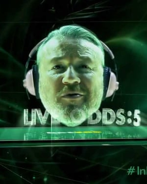 Ray Winstone in the Bet365 ad.