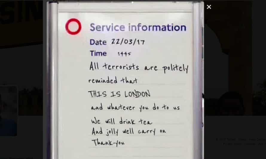 John Moore's tube sign: 'The fact it went from my Facebook to the Commons in 16 hours – I guess that's the power of the internet'