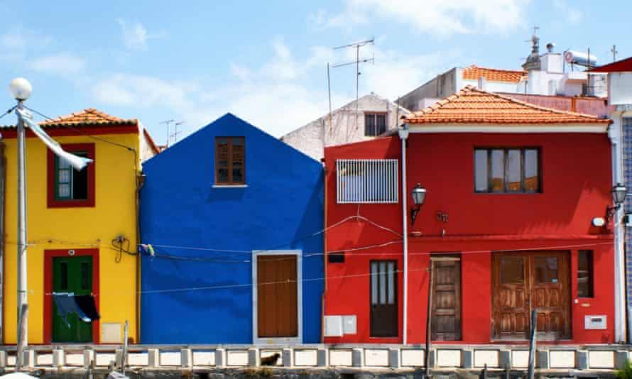 Houses in Aveiro, Portugal