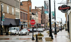 The archetypal US town ... downtown Muncie, Indiana. Photograph: AJ Mast/Getty Images
