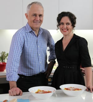 Malcolm Turnbull sticks to tried and trusted recipe on Kitchen ...