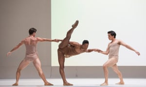 Paul Kay, Fernando Montaño and Téo Dubreuil in a revival of Chroma in 2013.