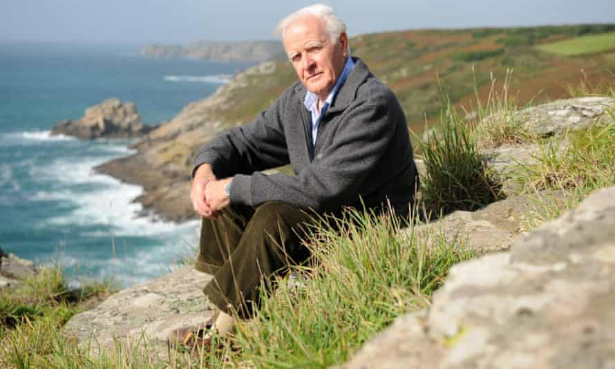 John Le Carré in Cornwall in 2007.
