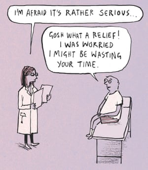 Berger & Wyse on patients – cartoon