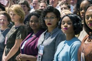'Diversity sells' … box-office success Hidden Figures, about black female Nasa mathematicians.