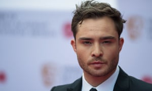 Ed Westwick, star of Gossip Girl and White Gold.