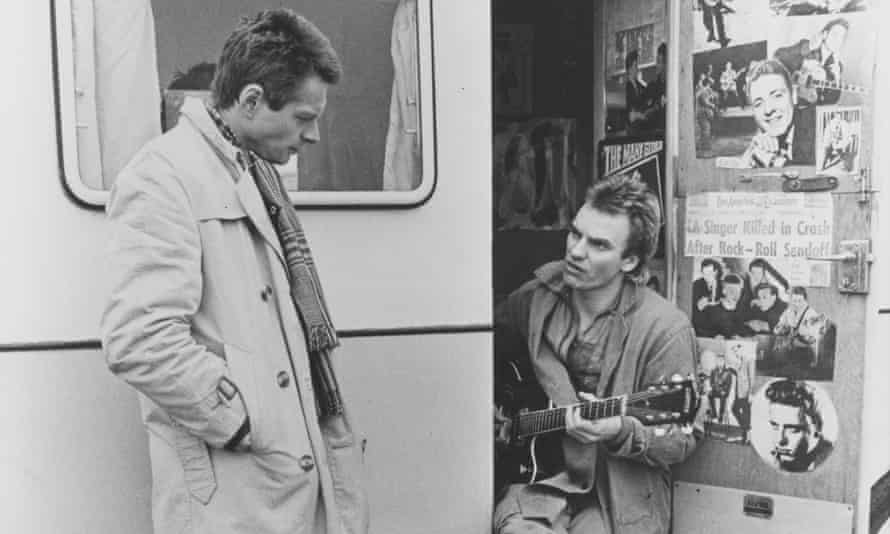 David Beames and Sting in Radio On in 1979.