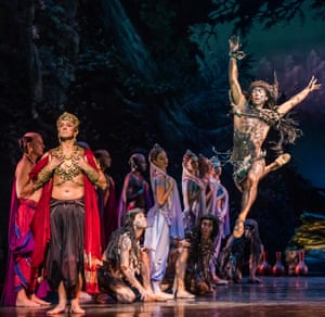 'Abetting ethnic stereotyping' … La Bayadère by the Royal Ballet in 2018.