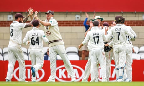 County cricket: Surrey beat Warks for first win of season – as it happened