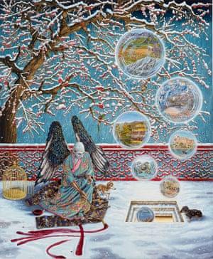Allegory of Memories through Monozukuri by Raqib Shaw.