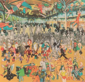 A Convention of Comic Book Characters - – Peter Blake