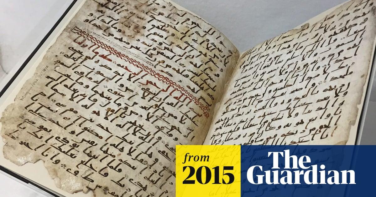 Oldest' Qur'an fragments found at Birmingham University