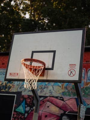 Jarvie park basketball courts.