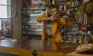 Betty Gilpin in The Hunt.