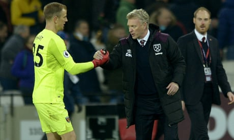 West Ham's David Moyes spares a thought for displaced Joe Hart