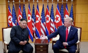 North Korean state media says the meeting between Trump and Kim was 'historic'.