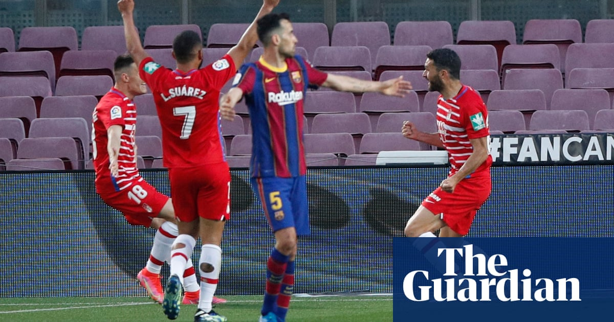 Barcelona blow chance to go top of La Liga after shock defeat to Granada