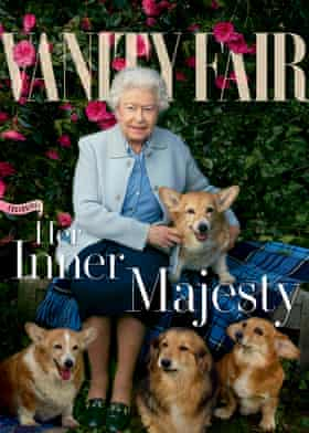 Annie Leibovitz's portrait of the Queen for the June/July 2016 issue of Vanity Fair