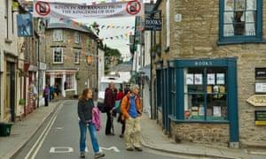 street in hay-on-wye