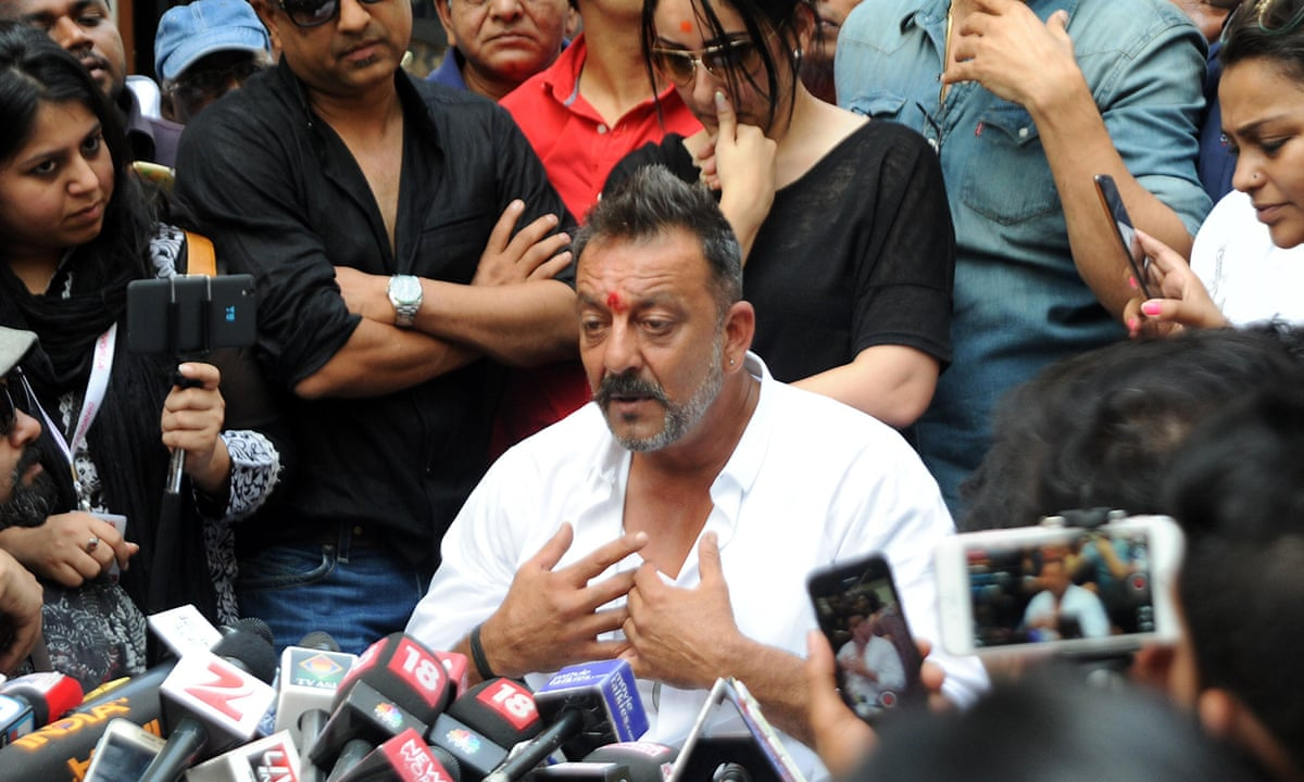 Bollywood star Sanjay Dutt released from jail | Film | The ...