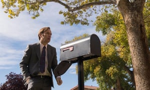 Heartbreaking … the gradual moral decay of Jimmy McGill.