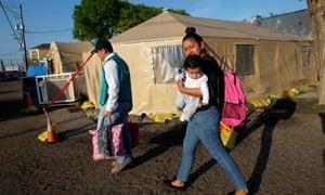 El Salvador migrants Texas