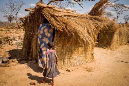 A tenant farmer's hut