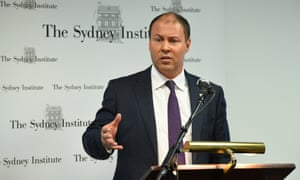 Federal treasurer Josh Frydenberg at the Sydney Institute, 22 January 2019.