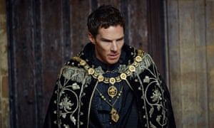 'A proud, silver-tongued schemer': Benedict Cumberbatch as Richard III in The Hollow Crown: The Wars of the Roses.