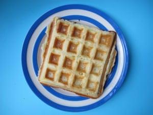 Ruth Van Waerebeek's Belgian waffles.