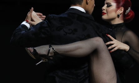 prizewinning dancers Andres Uran and Estefania Arango in Buenos Aires.