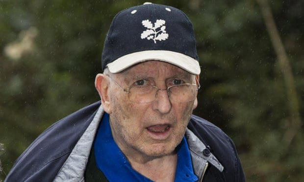Greville Janner after appearing in court in August 2015