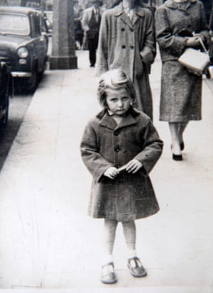 Theresa aged 4 in Dublin.