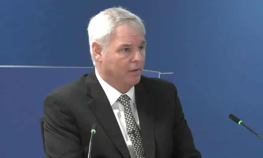 Ray Bailey, managing director of Harley Facades, gives evidence to the Grenfell Tower inquiry