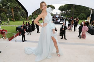 Petra Nemcova arrives at the amfAR Gala Cannes 2017 at Hotel du Cap-Eden-Roc on May 25, 2017 in Cap d'Antibes,