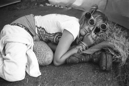 Sleeping it off after the Exodus free festival, Luton 1997.