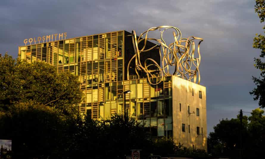 Goldsmiths, University of London, in New Cross.