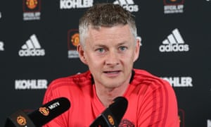Ole Gunnar Solskjær, the Manchester United manager, said: 'There's no quick fix; it's not like we buy seven players and suddenly we're in the right shape.'